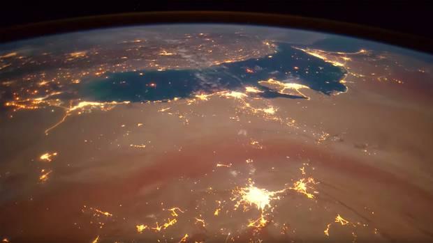 ESA-Weltraum-Bilder: So schön kann Gewitter (von oben aus) sein