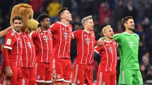 Bundesliga: Die Bayern jubeln