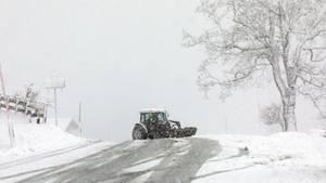Nachrichten Deutschland - Schnee Berchtesgaden