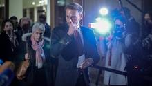 FDP-Parteivorsitzender Christian Lindner verlässt die Sondierungsgespräche