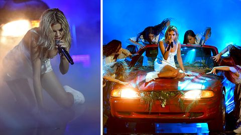 Selena Gomez performed bei den American Music Awards