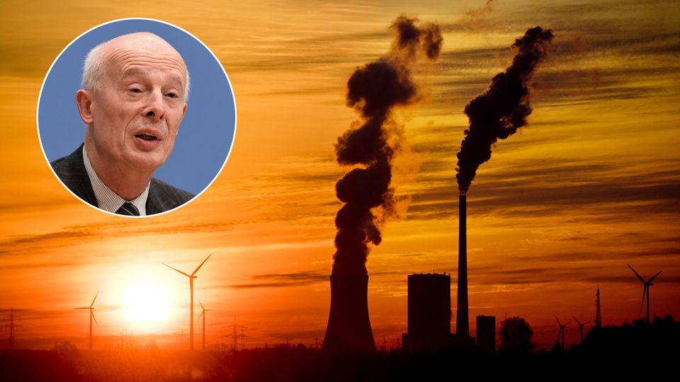 Klimaforscher Schellnhuber: Schwachsinn ist, wenn Politiker wieder in Gummistiefeln auf dem Deich stehen