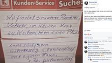 Einsamer Rentner sucht per Anzeige Gesellschaft für Weihnachten