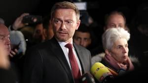 FDP-Chef Christian Lindner verteidigt nach dem Jamaika-Aus die Linie seiner Partei.