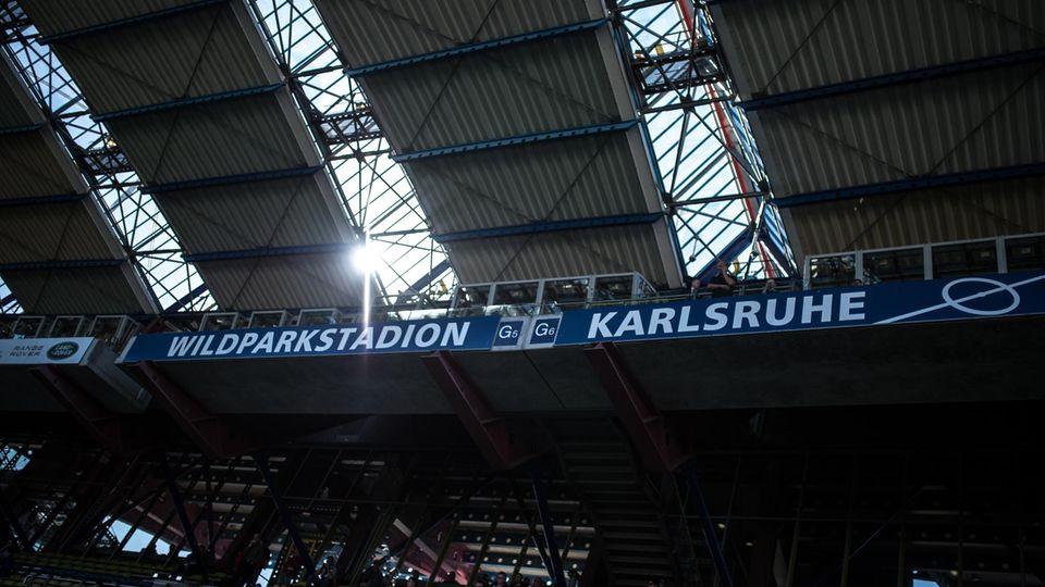 Das Wildparkstadion des Karlsruher SC