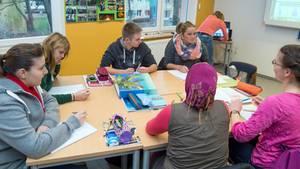 Pisa-Studie: Schüler arbeiten im Team