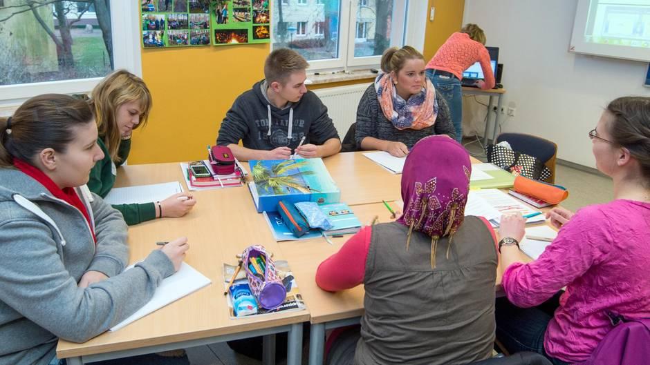 Deutsche Schüler schneiden bei Teamarbeit gut ab