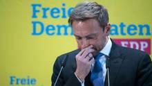 FDP-Chef Christian Lindner erklärte abermals das Aussteigen aus den Jamaika-Sondierungen