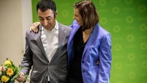 Katrin Göring-Eckardt und Cem Özdemir wollen bei Neuwahlen erneut als Spitzenkandidaten antreten