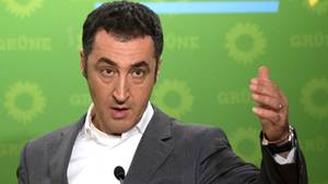 Der Vorsitzende der Partei Bündnis 90/Die Grünen, Cem Özdemir