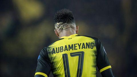 Champions League: Pierre-Emerick Aubameyang vom BVB