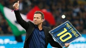 Lothar Matthäus: Daumen hoch
