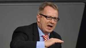 """Der Hamburger SPD-Abgeordnete Johannes Kahrs fordert nach dem Aus für Jamaika """"offene"""" Gespräche (Archivbild)"""