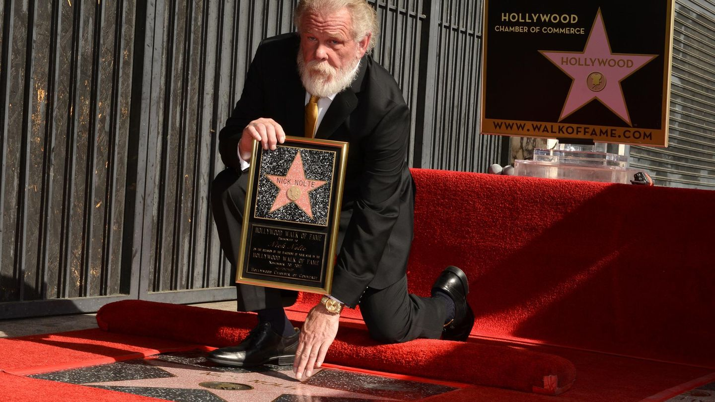 Nick Nolte - Hollywood-Stern - Walk of Fame