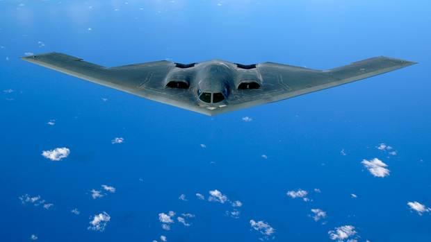 Die B-2 Spirit.