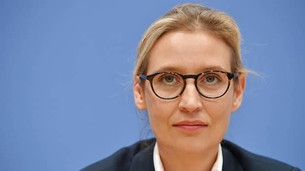 Alice Weidel (AfD) forderte nach den geplatzten Jamaika-Verhandlungen einen Termin beim Bundespräsidenten für ihre Partei