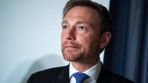 FDP-Chef Christian Lindner im Bild