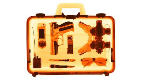 Waffe im Handgepäck