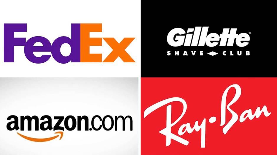 Geheime Botschaften: Finden Sie die versteckten Zeichen in diesen weltberühmten Logos?