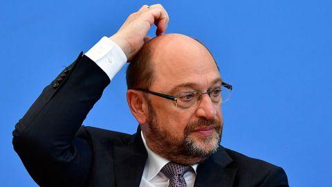 SPD: Chef Martin Schulz kratzt sich am Kopf