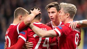Champions League: Die Bayern jubeln