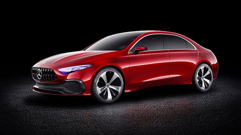 Mercedes Concept A Sedan - erstmals in Shanghai zu sehen