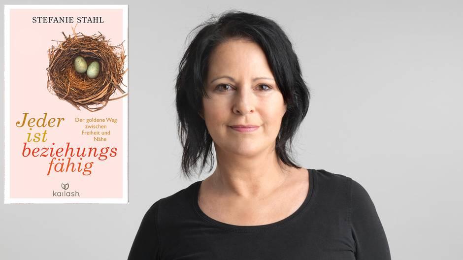 """Stefanie Stahl, Autorin von """"Jeder ist beziehungsunfähig - Der goldene Weg zwischen Freiheit und Nähe"""" (320 Seiten, Kailash, 14,99 Euro)"""
