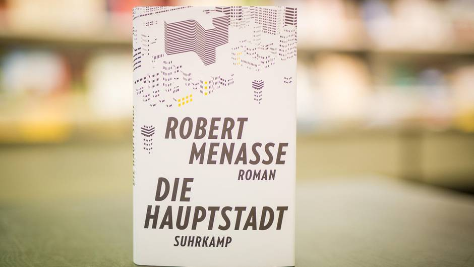 """Robert Menasse: """"Die Hauptstadt"""""""