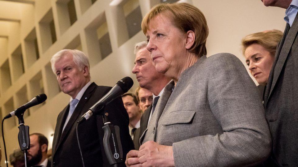 Angela Merkel und das Problem mit der der Personal-Union: Warum nun alle auf die CSU blicken