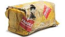 Nicht immer kommen Pakete unversehrt an