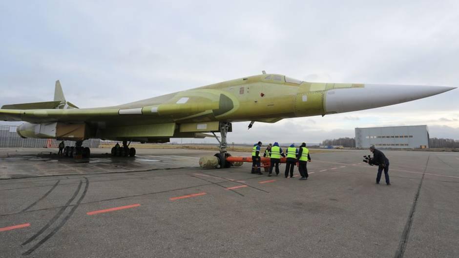 """Neuer Langstreckenbomber Tu-160 M2: Russlands Luftwaffe setzt auf den modernisierten """"Weißen Schwan"""""""