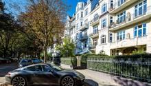 Eine Klasse für sich: Hamburg-Harvestehude hat die höchste Porsche- und Range-Rover-Dichte in Deutschland.
