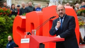 Schulz sichert Parteibasis Abstimmung über mögliche SPD-Regierungsbeteiligung zu