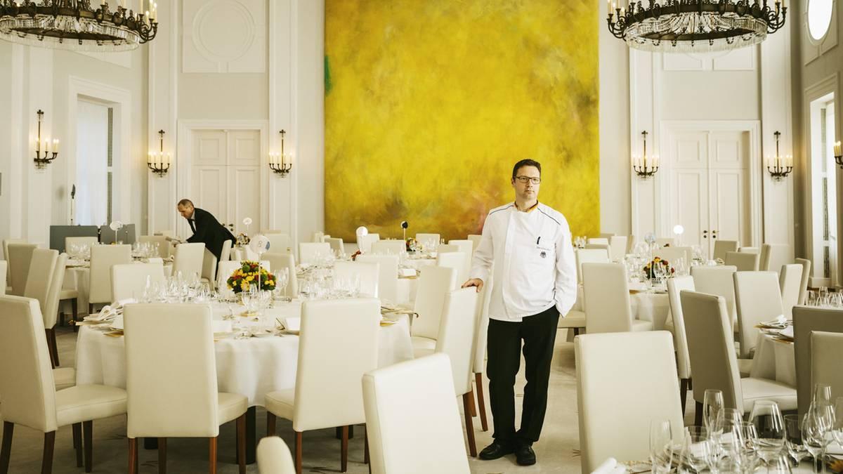 Der Mann im Schloss Bellevue: Er ist der wichtigste Koch ...