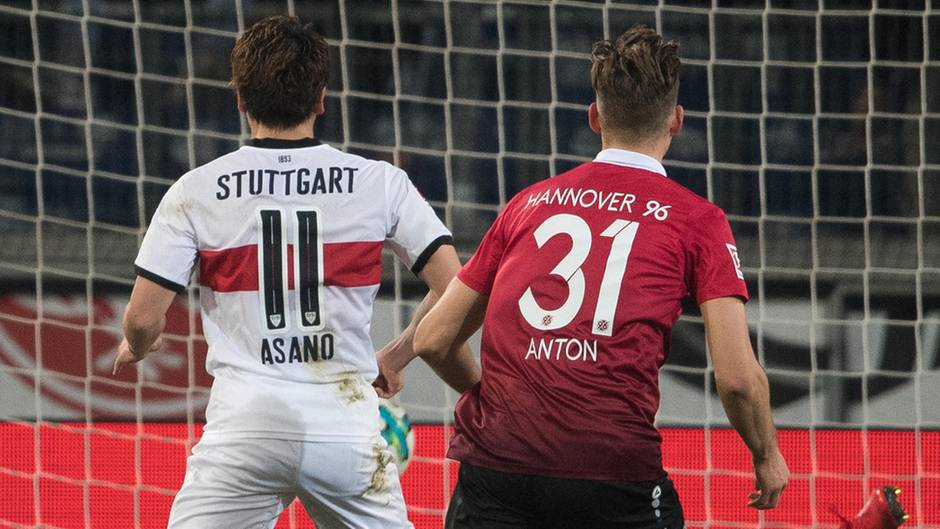 Tor durch Asano - VfB Stuttgart holt bei Hannover 96 den ersten Auswärtspunkt