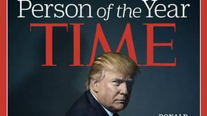 """Donald Trump war im vergangenen Jahr – aus seiner Sicht endlich – von """"Time"""" zur """"Person des Jahres"""" gekürt worden"""