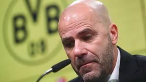 BVB-Trainer Peter Bosz nach Derby-Niederlage gegen Schalke unter Druck