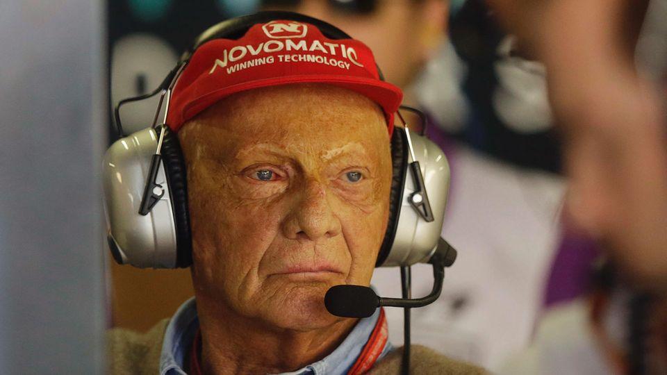 Niki Lauda macht als RTL-Experte für die Formel 1 Schluss