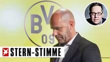 BVB Trainer Peter Bosz