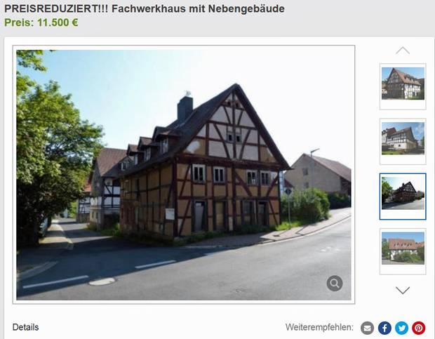 500 Euro Häuser : herrenlose immobilien h user f r umsonst ~ Lizthompson.info Haus und Dekorationen