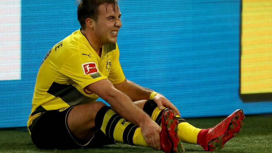 BVB-Mittelfeldspieler Mario Götze wird dieses Jahr kein Spiel mehr bestreiten