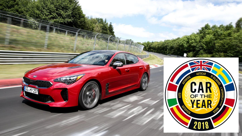 Schock für Volkswagen: Der T-Roc ist raus, aber der Kia Stinger hat es in die Shortlist geschafft.