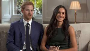 Der britische Prinz Harry und die US-Schauspielerin Meghan Markle haben sich verlobt