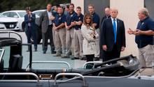 Donald Trump beim Secret Service