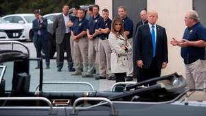Donald Trump beim Secret Service