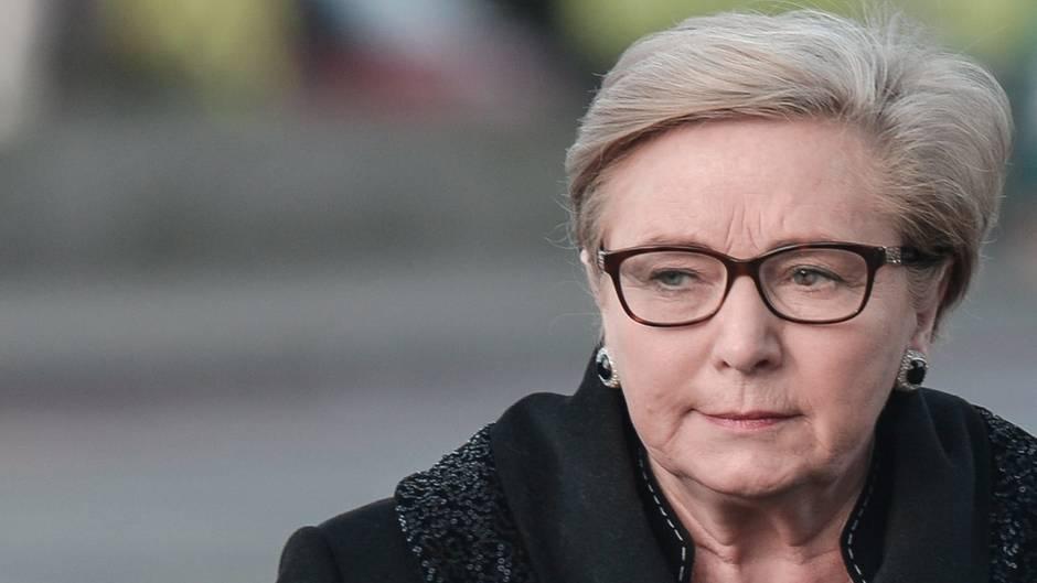 Irlands stellvertretende Ministerpräsidentin Frances Fitzgerald