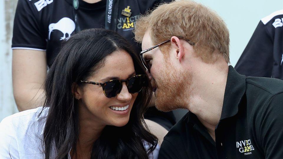Prinz Harry und Meghan Markle verliebt bei den Invictus Games in Toronto