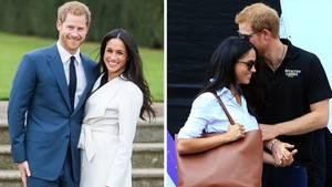 Jahresrückblick: Prinz Harry und Meghan Markle sind das Liebespaar des Jahres