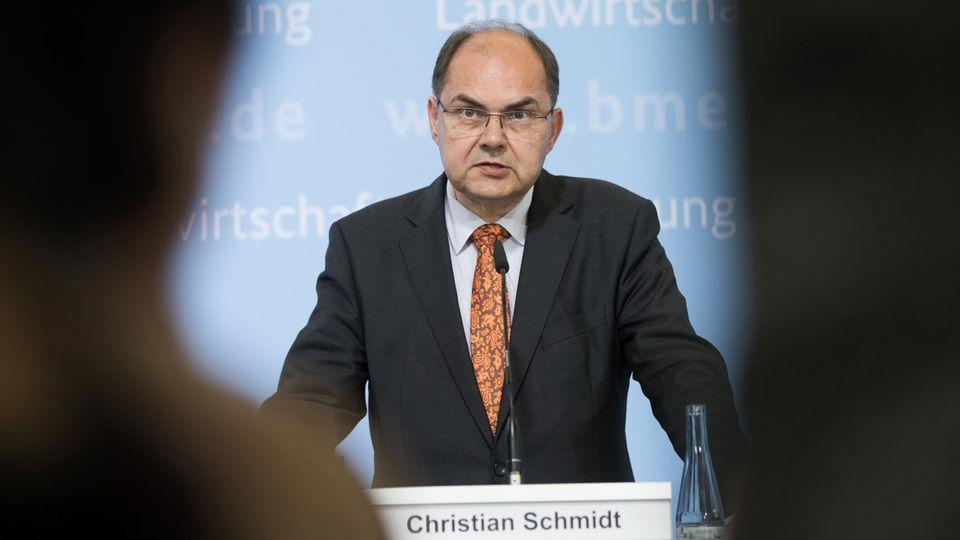 """Christian Schmidt will auf Ministerin Hendricks zugehen - aber zurücktreten? """"Nein."""""""