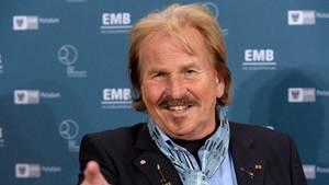"""Frank Zander: """"Bei mir wurde Prostata-Krebs entdeckt"""""""